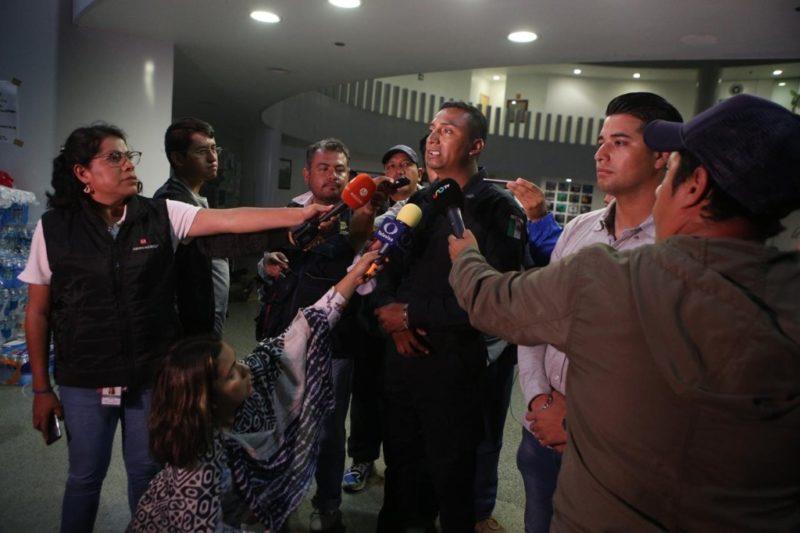 Fracasa intento de diálogo entre la Policía Federal y Alfonso Durazo