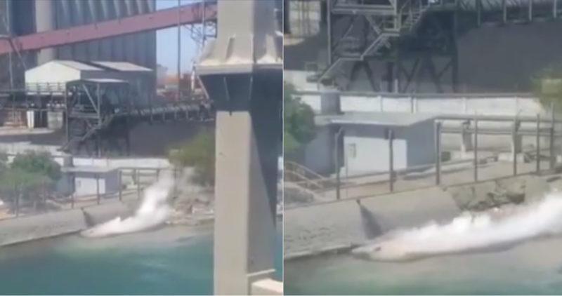 Grupo México, de Germán Larrea, derrama ahora 3,000 litros de ácido sulfúrico en Mar de Cortés