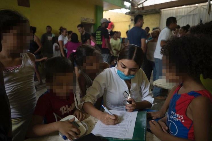 Actividad febril en la casa Jesús El Buen Pastor del Migrante