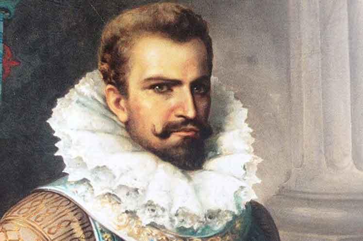 El conquistador Pedro de Alvarado, asesino de miles de antiguos mexicanos y centroamericanos