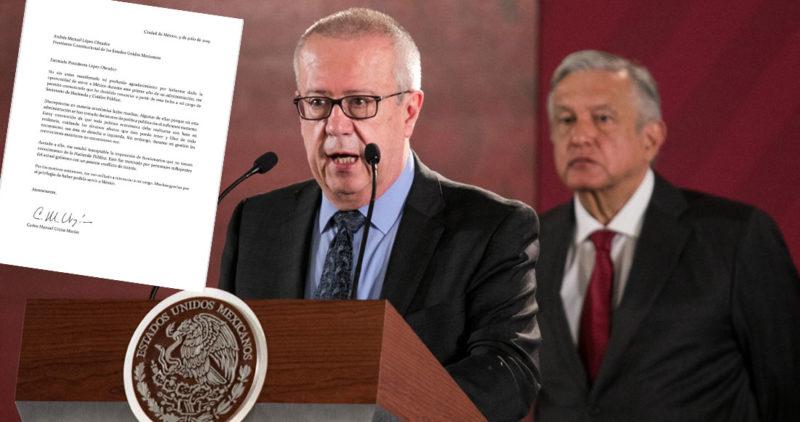 Urzúa renuncia como Secretario de Hacienda y deja ver pleitos de poder en la 4T; el peso lo paga: el dólar sube 1.97% y llega a 19.27