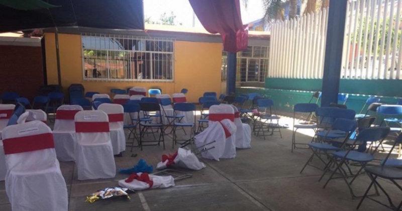 Balacera en kinder de Guadalupe, en Puebla, deja cuatro muertos y cuatro heridos; hallan niño estrangulado en Chiapa