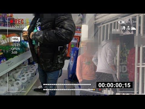 """Video: """"¡Pónganse truchas!"""", dice """"fardero"""" a los encargados de tiendas; se roba por necesidad, asegura"""