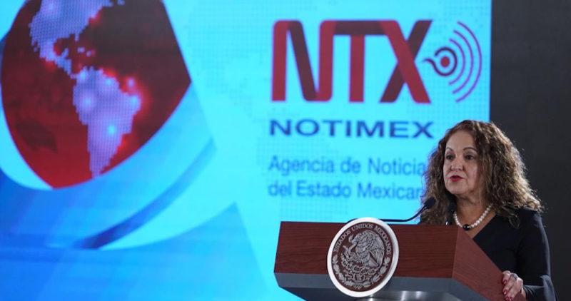 Notimex estaba tomada por una mafia, con aviadores y privilegios, afirma su directora, Sanjuana Martínez