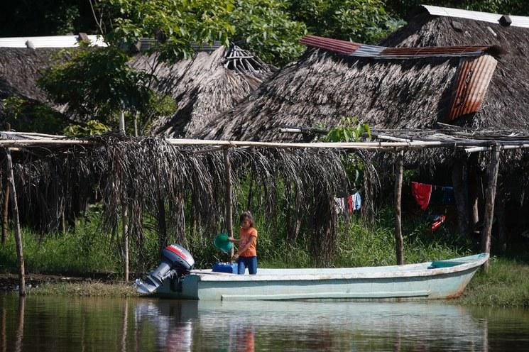 Vigilado por la Guardia Nacional, el río Suchiate deja de ser opción migrante