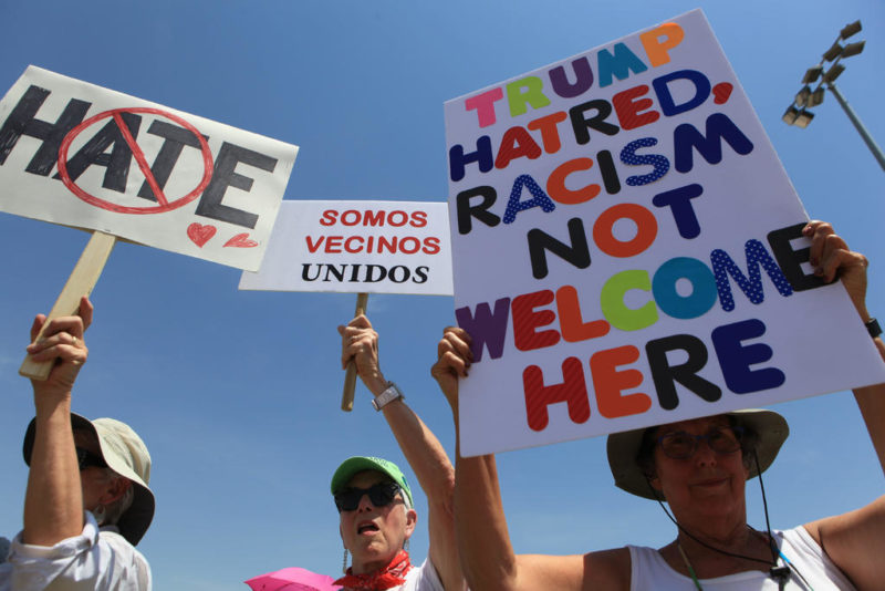 """Víctimas hospitalizadas por tiroteo en El Paso se negaron a hablar con Trump: lo acusaron de """"sólo hacer circo"""" y de """"preparar el odio"""" contra mexicanos y latinos"""