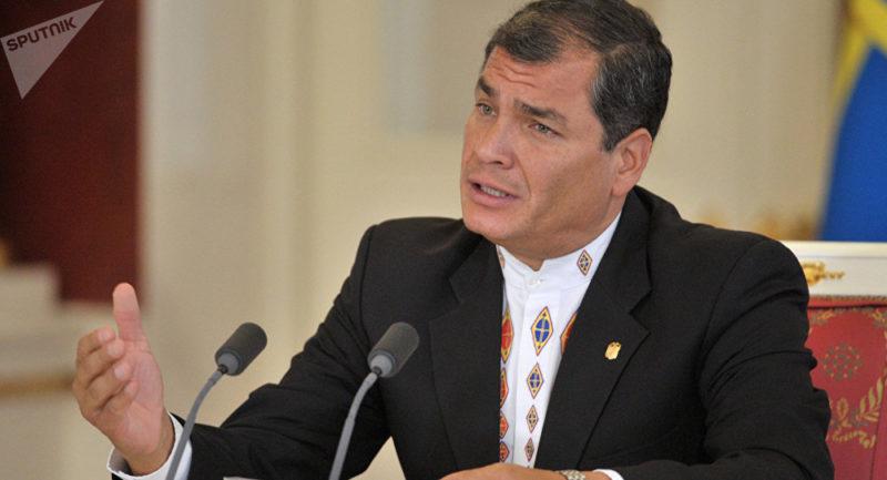 Jueza dicta prisión preventiva contra el ex presidente Rafael Correa
