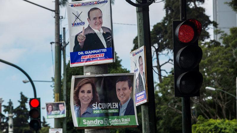 Guatamaltecos eligen hoy a su presidente; Sandra Torres, favorita