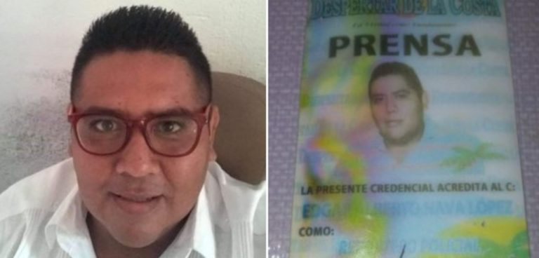 Asesinan a periodista de portal de noticias de Zihuatanejo