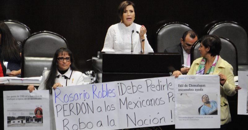 Rosario Robles quiere que le abran sus cuentas, y se libra de presentar acta de entrega de Sedesol a Meade: Reforma