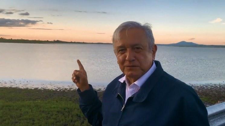Video: Confirma López Obrador control de fuga de gas en Nextlalpan
