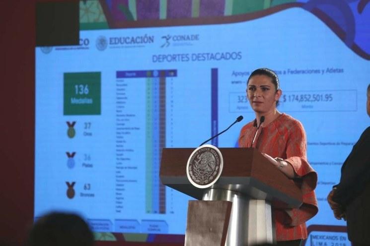 Desde este jueves, las becas a los atletas panamericanos: AMLO