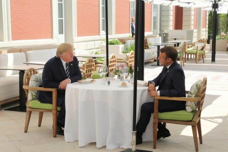Videos: La Amazonía y las tensiones comerciales dominan inicio de cumbre del G7
