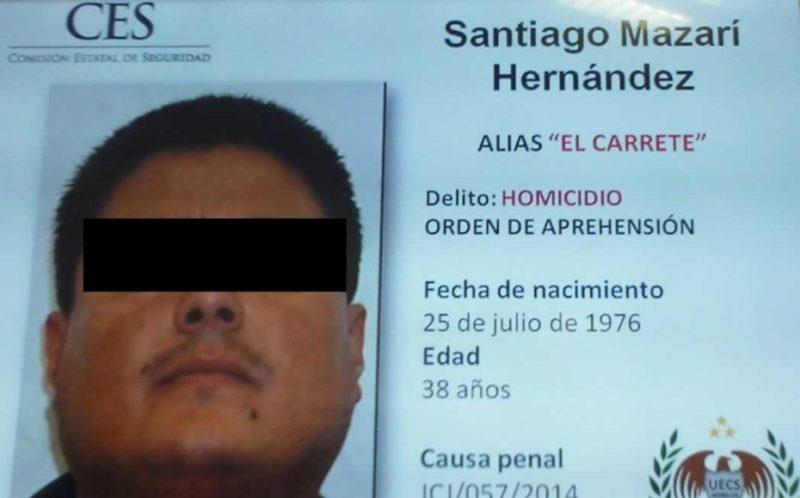 """Capturan a """"El Carrete"""", líder del cartel  """"Los Rojos"""", en Guerrero"""