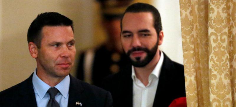 Estados Unidos y El Salvador firman acuerdo para frenar migración