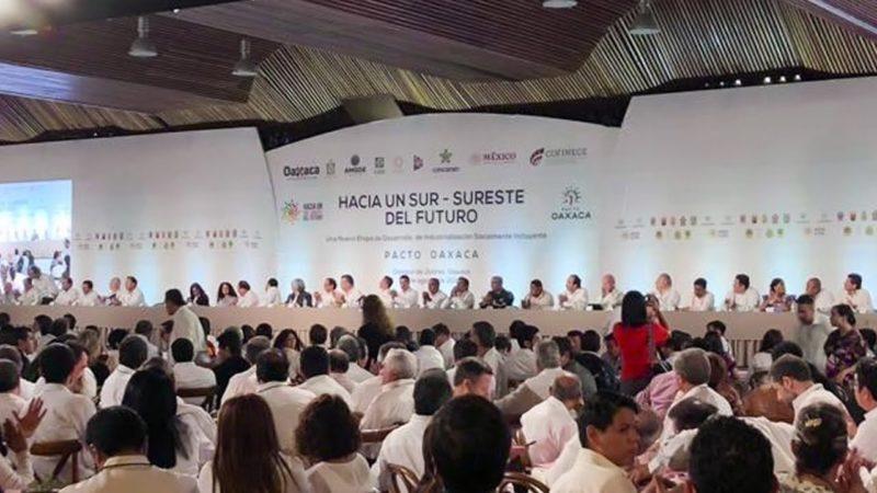 En vivo: Encuentro de AMLO con empresarios de Concamin para el desarrollo del sur-sureste, desde Oaxaca