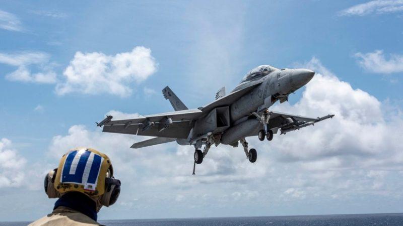 Publican imágenes de un portaviones de EE.UU. 'sacando músculo' en el mar de la China Meridional