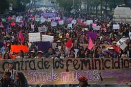 Reportan más de 2 mil homicidios de mujeres de enero a julio