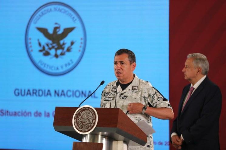 Se han desplegado 58 mil elementos de la Guardia Nacional: Rodríguez Bucio