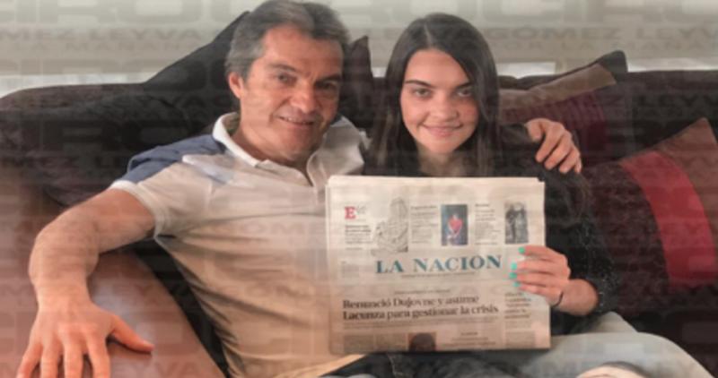 Carlos Ahumada fue liberado en Argentina; su hija envía una  FOTO que lo confirma