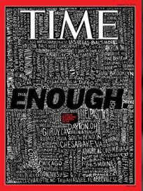 """""""Ya basta"""": revista TIME pide acabar con el terrorismo supremacista blanco que está ganando la batalla a EU"""