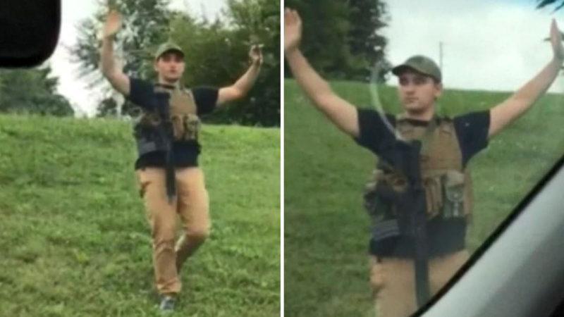 Arrestan a joven armado hasta los dientes en un Walmart de Missouri; será acusado de terrorismo