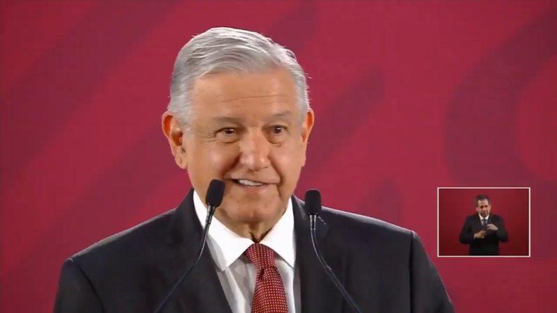 """La Unidad de Inteligencia Financiera, sin datos que impliquen a Peña Nieto: AMLO. """"La mancha de un corrupto, no se quita ni con todas las aguas de los oceános"""", dijo"""