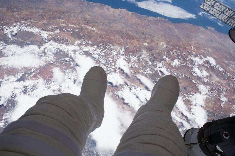 Fotografías de la Tierra tomadas por astronautas a bordo de la Estación Especial Internacional