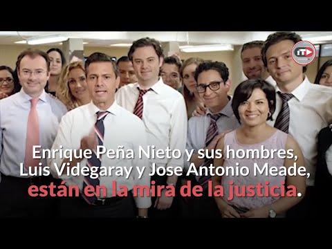 """Video: Peña Nieto está en """"jaque"""". La Fiscalía le tiró dos piezas (Robles y Lozoya) y va por alfiles: Videgaray y Meade"""