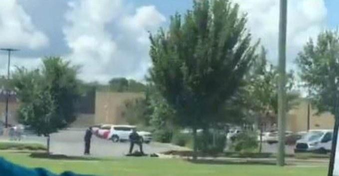 Videos: Nuevo tiroteo en una tienda WalMart; ahora en Luisiana, con un lesionado y un adetenido