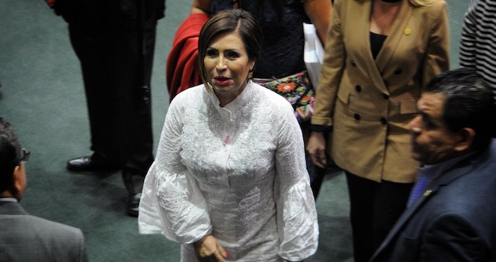 Rosario Robles y sus problemas del corazón