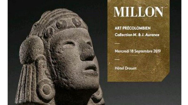 México solicita cancelar subasta de arte precolombino en París