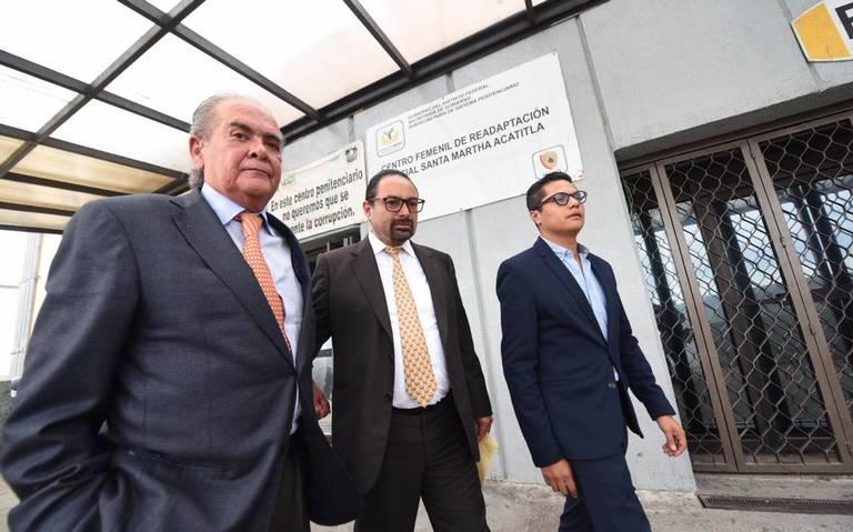 """Rosario Robles se queda sin abogados defensores porque """"carece de dinero para pagarles""""; convocan realizar a una colecta popular para ayudarla"""
