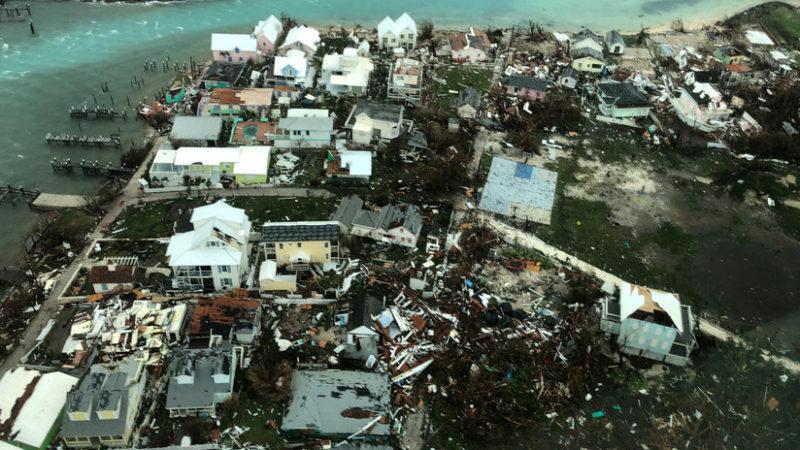 Videos: Imágenes aéreas de lo que quedó de Bahamas tras el devastador paso del huracán Dorian