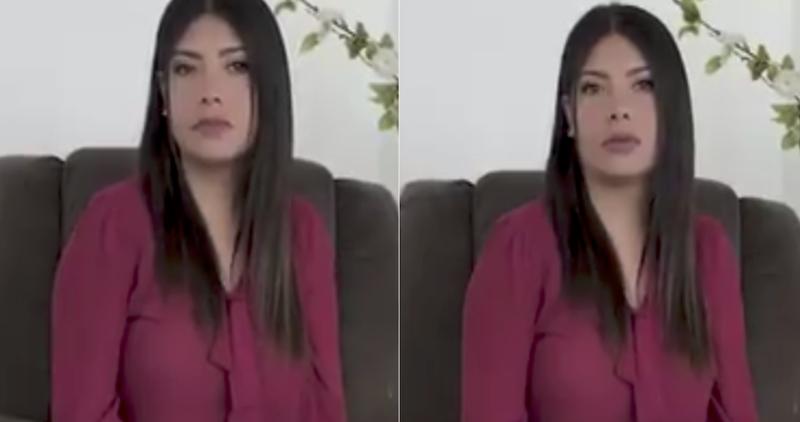 """Video: Ximena García se disculpa con Interjet, AMLO y México; """"jamás incitaría a la violencia"""", dice"""