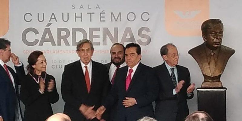 Video: En homenaje a Cuauhémoc Cárdenas, Yvonne Ortega, Manlio Fabio Beltrones, José Narro y Francisco Lastida Ochoa