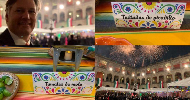 Tamales, aguas frescas y cero lujos: al interior del festejo de Independencia en Palacio Nacional
