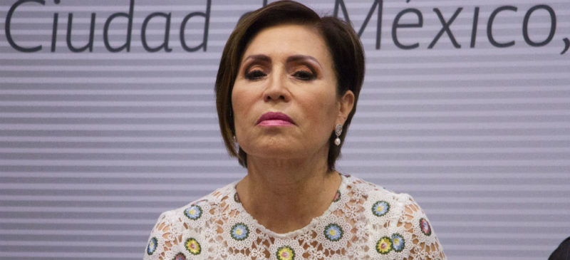 Función Pública inhabilita a Rosario Robles por 10 años