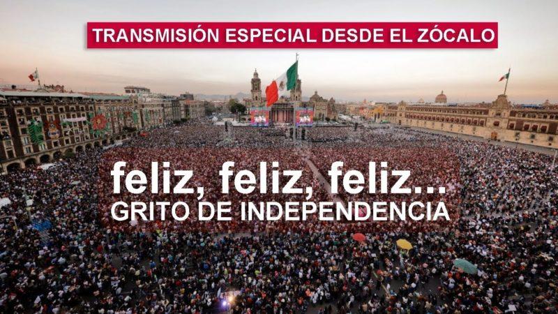 En vivo: Festival y el Grito de la Independencia desde el Zócalo de la Ciudad de México