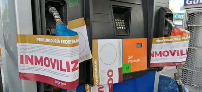 Profeco clausura gasolineras de Tamaulipas que se negaron a surtir a policías y militares, por amenazas de un cártel