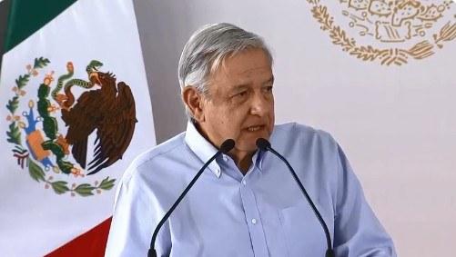 """En Tamaulipas, AMLO llama a delincuentes a recapacitar y actuar dentro de la legalidad; """"piensen en sus familias, cuanto sufren"""", dijo"""