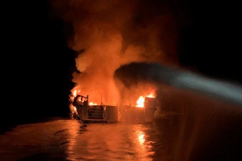 Ya son 25 muertos, 9 desaparecidos por el incendio en el barco Conception; hay 9 sobrevivientes