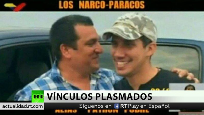 Venezuela revela nuevas fotografías de Guaidó con narcoparamilitares de Colombia