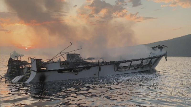 Suspenden búsqueda de sobrevivientes del barco incendiado en California tras recuperar 20 cadáveres; hay 14 desaparecidos