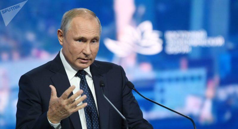 Putin: el liderazgo de Occidente toca a su fin