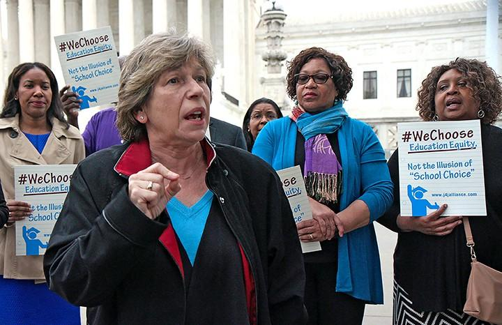 It's our movement — the labor movement — that fights for the better life: AFT president Randi Weingarten