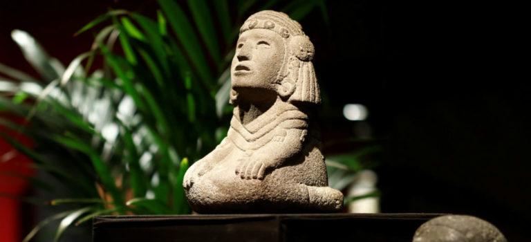 Venden a Chalchiuhtlicue, diosa azteca del agua, en 290 mil euros en la subasta de París