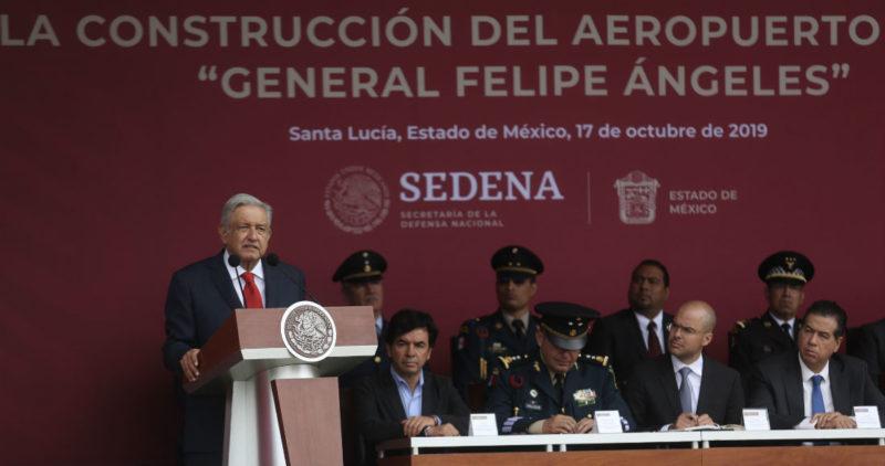 Video: AMLO da banderazo a Santa Lucía. El aeropuerto será inaugurado el 21 de marzo de 2022, anuncia