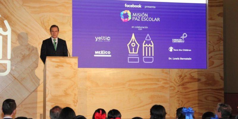 Autoridades educativas mexicanas y Facebook presentan por primera vez a nivel mundial estrategia innovadora para combatir el ciberacoso escolar