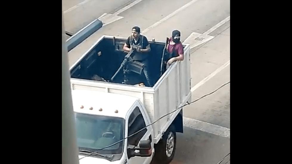 """Video: Detención de un hijo de """"El Chapo"""" propicia balaceras en diversas partes de Culiacán"""